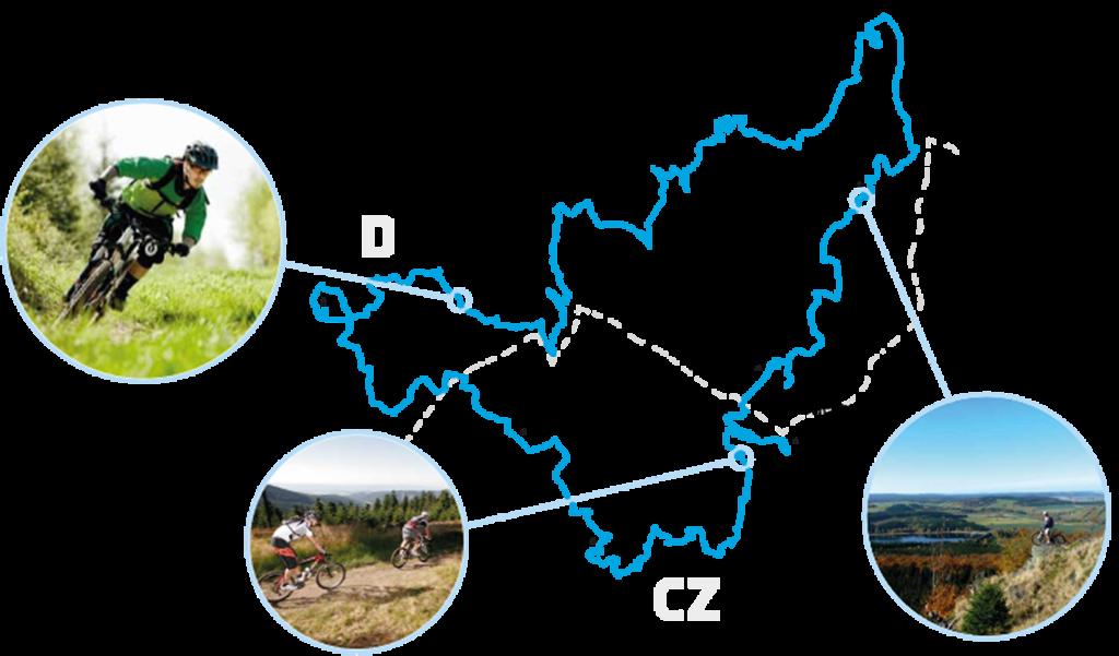 Stoneman Miriquidi MTB: Karte Erzgebirge