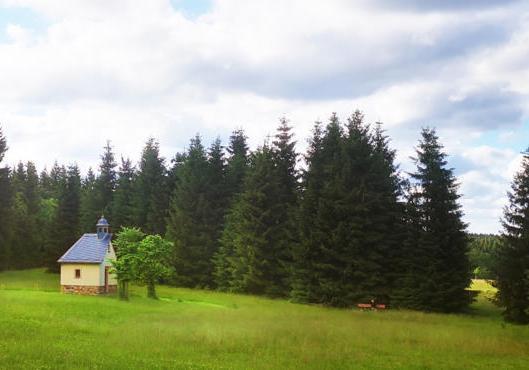 Stoneman Miriquidi Mountainbike MTB Erzgebirge Sankt Nepomuk Kapelle