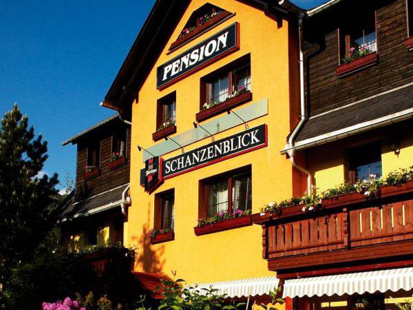 Pension Schanzenblick Oberwiesenthal, city – Logis-Partner Stoneman Miriquidi MTB