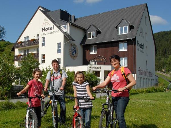 Hotel Alte Schleiferei, city – Logis-Partner Stoneman Miriquidi MTB