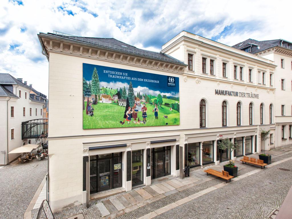 Touristinformation Annaberg-Buchholz, city – Logis-Partner Stoneman Miriquidi MTB