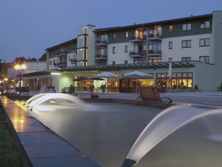 Hotel am Kurhaus, city – Logis-Partner Stoneman Miriquidi MTB